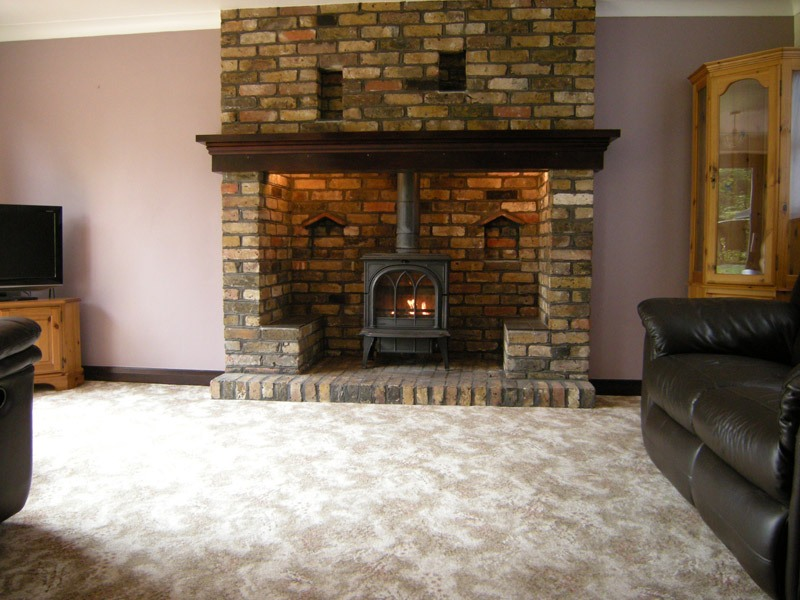 Heat Wave Wood Stove Fan On Custom Fireplace Mobile Quality